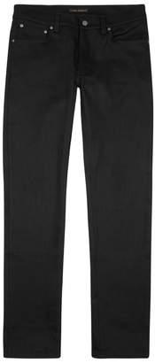 Nudie Jeans Skinny Lin Black Jeans