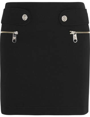 Versace Neoprene Mini Skirt - Black