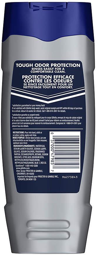 Gillette Body Wash Odor Shield