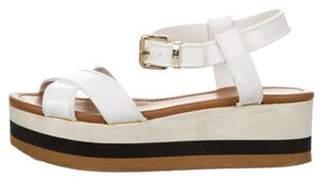 Fendi Platform Ankle Strap Sandals Platform Ankle Strap Sandals