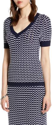 Halogen Short Sleeve Sweater