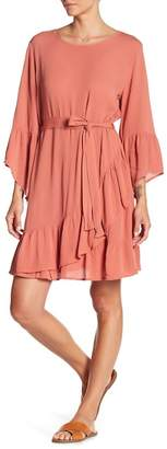 Cotton On & Co Monique Ruffle Sleeve Dress