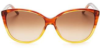 Marc Jacobs Women's Color Block Cat Eye Sunglasses, 58mm