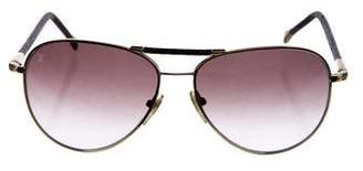 Louis Vuitton Conspiration Pilote Canvas Sunglasses