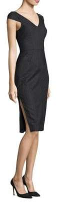 Milly Italian Pinstripe Larissa Dress