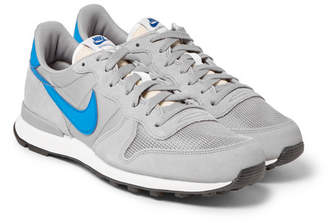 Nike Internationalist Suede, Leather And Shell Sneakers