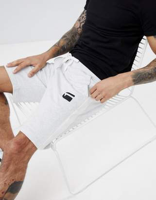 G Star G-Star Logo Sweat Shorts with Side Stripe