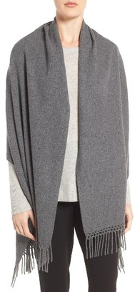 Women's Nordstrom Collection Cashmere Wrap $299 thestylecure.com