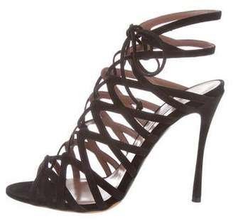 Tabitha Simmons Lark Lace-Up Sandals w/ Tags
