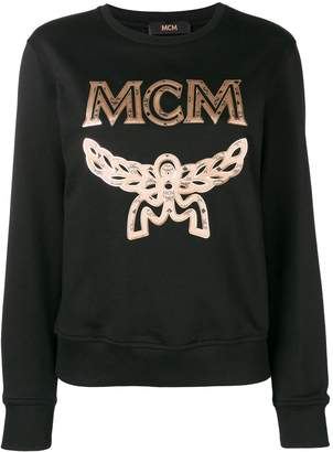 MCM embroidered logo sweatshirt
