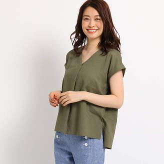 Dessin (デッサン) - Dessin(Ladies) レーヨン麻ライトシャツ