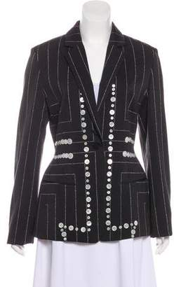 Edun Embellished Structured Blazer