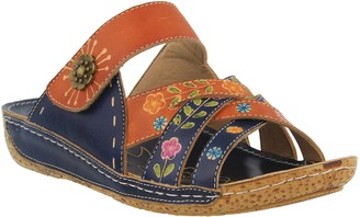 Spring Step L'Artiste by Step Leather Slide Sandals - Leigh