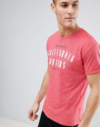 Next Graphic Print T-Shirt In Coral