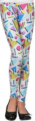 Fun Costumes 80s Party Girl Leggings