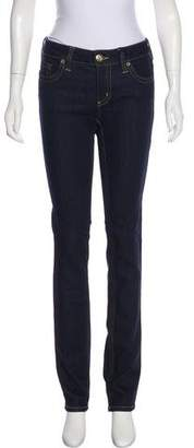 RED Valentino Mid-Rise Straight-Leg Jeans w/ Tags