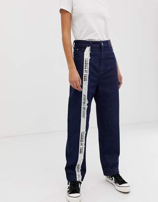 House of Holland Taped mom jeans