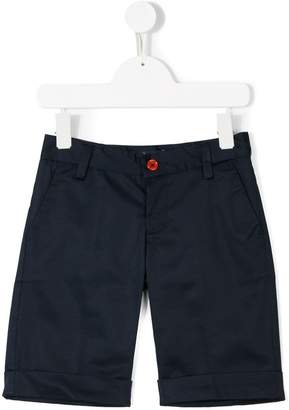Harmont & Blaine Junior logo embroidered smart shorts