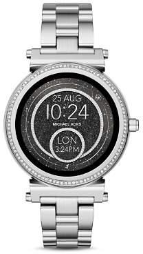 Michael Kors Sofie Stainless Steel Touchscreen Smartwatch, 42mm