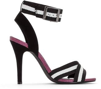 La Redoute Collections Sandals with Textile Straps