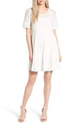 Women's French Connection Shannon Fit & Flare Dress $148 thestylecure.com