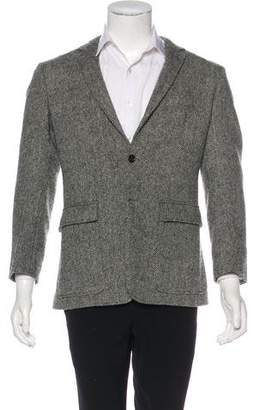 Thom Browne Herringbone Wool Sport Coat