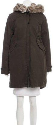 Woolrich Faux Fur-Trimmed Parka Coat $325 thestylecure.com