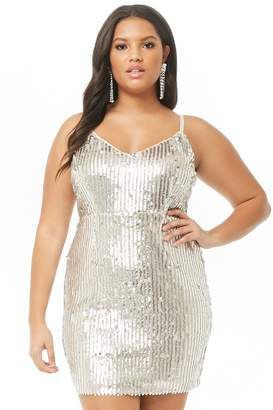 381a5ab7c1 Forever 21 Silver Plus Size Dresses on Sale - ShopStyle Canada