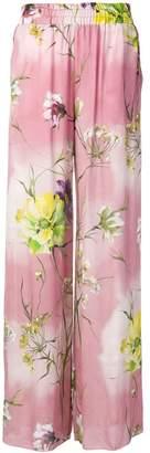 Blumarine floral print palazzo trousers
