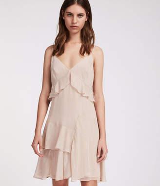 AllSaints Enya Stripe Dress