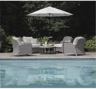 Summer Classics Astoria Swivel Glider Chair with Cushions Summer Classics