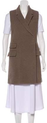 Stella McCartney Wool and Cashmere-Blend Vest