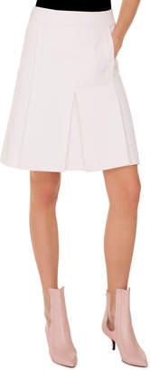Akris Punto A-Line Tricot Skirt with Side-Seam Pockets