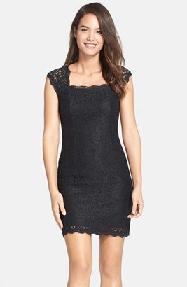 Women's Adrianna Papell Lace Sheath Dress $148 thestylecure.com