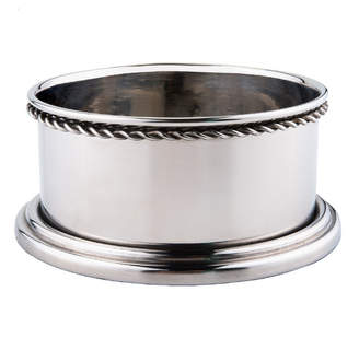 Old Dutch Stainless Steel Set of 2 Wine Coasters