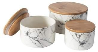 Set of 3 Roydon Ceramic Storage Jars