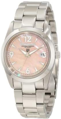Mother of Pearl River Woods Women's RW 3 L PPD SS Pink mother-of-pearl Watch