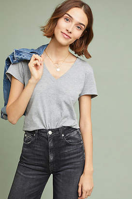 Anthropologie Essential V-Neck Tee