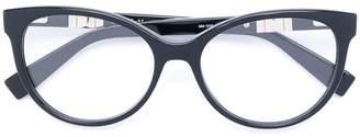 Max Mara round frame glasses