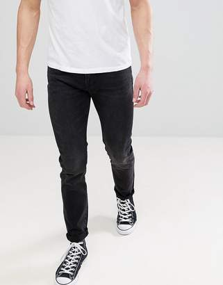 Paul Smith Black Washed Slim Fit Jeans