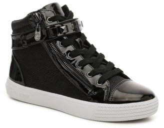 G by GUESS Minus High-Top Sneaker $79 thestylecure.com