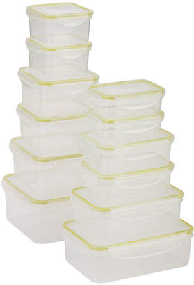 Honey-Can-Do Snap-Tab 12-pc. Food Storage Set