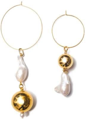 Mounser Gold Pagoda Fruit Earrings