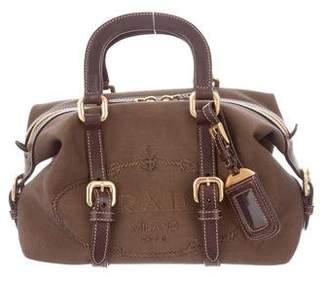 Prada Mini Logo Jacquard Bag