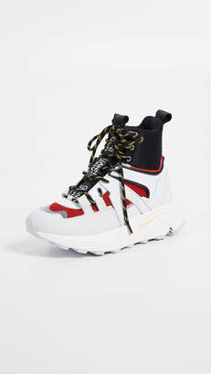 Ganni High Top Tech Sneakers