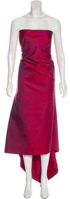 Calvin Klein Collection Strapless Maxi Dress