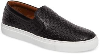Aquatalia Ashlynn Embossed Slip-On Sneaker