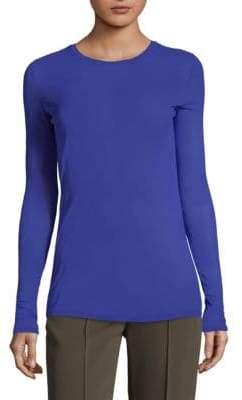 Diane von Furstenberg Fitted Long-Sleeve T-Shirt