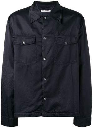 Our Legacy creased chest pocket shirt