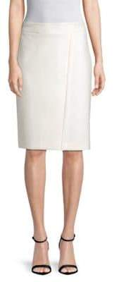 BOSS Vadama Panelling Pencil Skirt